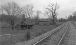 Historic Booker Farm divided by Luttrell Corryton Rd. and the railroad.