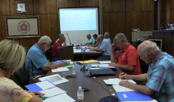 County commission rescinds members' salary increase, passes budget