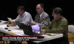 School Board Meeitng March 2019