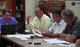 Board Orders Guardrail Removal, Passes Budget