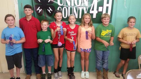 Golden Comet Winners l to r - Chesney, Richardson, Eubanks, Holt, Sexton, Malone, Smith, Farmer