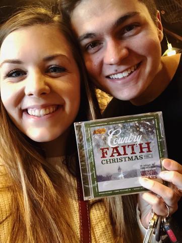 Hannah Kerr and Jason Earley