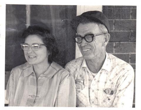 """Esther Keck Wyrick and William Lathan """"Lath"""" Wyrick"""