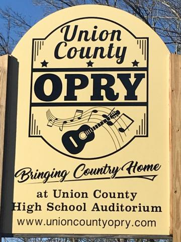 Union County Opry - Bringing Country Home! at Union County High School Auditorium