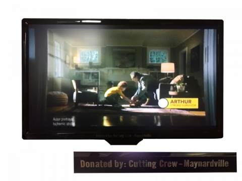 Donated TV at Willow Ridge Center