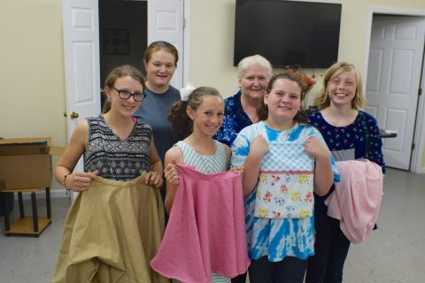 Summer Sewing with 4-H
