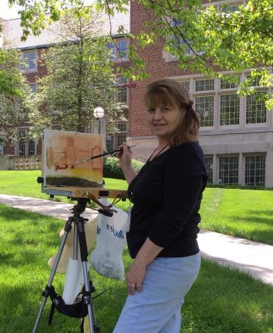 Betty Bullen Painting