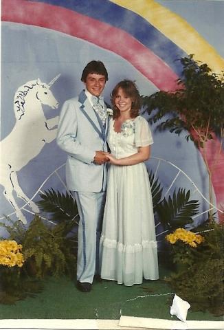 Tim and Brooke Prom 1982