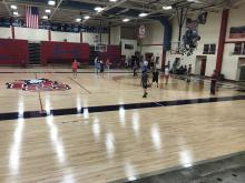Patriots Basketball Receives New Gym Floor