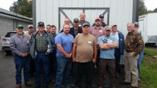 Pictured Left to Right: Back- Justin Utley, Jacob Mason, Robert Loy, Stephen Mitchell, James Yarber Jr., Robert Stooksbury, David Gray; Center- Curt Sawyer, Rick Roberts, Chris George; Front- Tim George, Kern Elkins, Jason West, Bobby Ray, Danny Stooksbury, Denny Bates