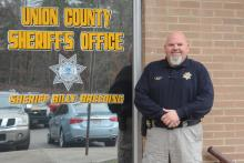 Union County Sheriff Billy Breeding