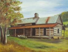 Hamilton Tolliver Log Cabin