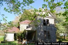 J. Will Taylor home place