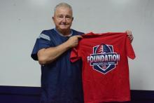 Coach Larry Kerr