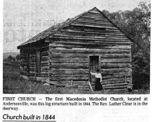 Macedonia Methodist Church at Andersonville