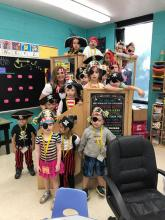 Pirate Day at Luttrell Elementary School