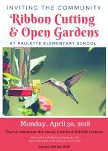 Paulette Outdoor Classroom Gains National Recognition
