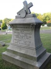 Thomas Fitzgerald was born at Kerry, Ireland His wife, Hannah Pyne Fitzgerald, was born at Cork, Ireland Burial: Calvary Catholic Cemetery Knoxville, Tennessee