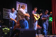Tumblin' Run bluegrass band at the Union County Opry
