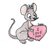 Valentines Mouse