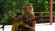 Virginia Faith was the winner of the 2016 Luttrell Music Festival kids music competition.