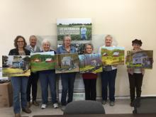 Left to Right: Mary Johnson, Carol Pratt, Judy Sexton, Jeri Lett, Frances Russell, Judi Gerew