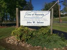 Plainview sign