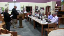 School Board Discusses Trash, Sign Clutter, and Mental Health Grant