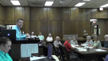 No Drama at August 2019 Commission Meeting
